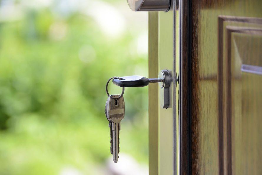 deur-met-sleutels